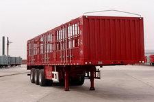 飞花牌HBX9405CCY型仓栅式运输半挂车
