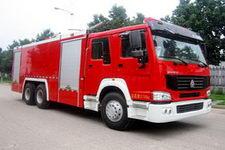 中卓时代牌ZXF5240TXFGF60型干粉消防车