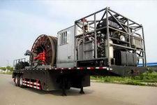 海智达牌JJY9400TLG型连续管作业半挂车图片