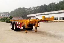 粱锋7.2米31.5吨2轴集装箱运输半挂车(YL9350TJZ)
