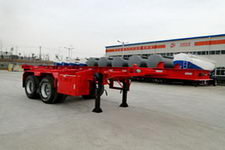 东润7.3米30.8吨2轴集装箱运输半挂车(WSH9401TJZ)