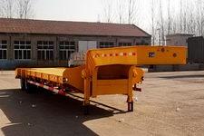粱锋12米28吨2轴低平板半挂车(YL9350TDP)