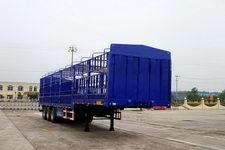 万事达牌SDW9402CCYD型仓栅式运输半挂车
