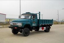 福达牌FD2815CDS型自卸低速货车