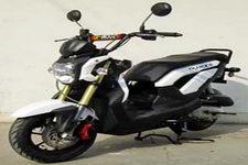 本菱牌HL48QT-5型两轮轻便摩托车图片