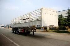 万事达牌SDW9403CCY型仓栅式运输半挂车