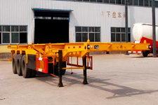 粱锋8.5米35吨3轴集装箱运输半挂车(YL9403TJZ)