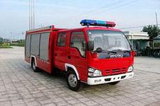 中卓时代牌ZXF5070GXFAP20型A类泡沫消防车