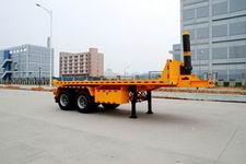 港粤牌HSD9340ZZXP型平板自卸半挂车
