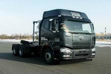 解放牌CA4250P66T1A3E22M4X型集装箱液化天然气半挂牵引车图片