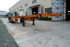 灵光牌AP9400TJZG型集装箱运输半挂车