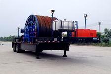 海智达牌JJY9380TLG型连续油管作业半挂车图片