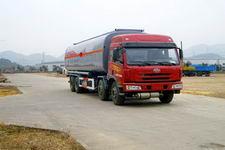 中商汽车牌ZZS5310GHY型化工液体运输车图片