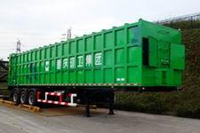 山花牌JHA9400ZYS型压缩式垃圾半挂车图片