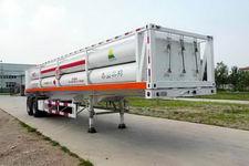 红旗牌JHK9320GGY型液压子站高压气体长管半挂车
