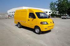 达福迪牌JAX5023XXYBEVF120LB15M2X2型纯电动厢式运输车图片
