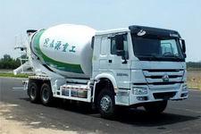 森源牌SMQ5250GJBZL43型混凝土搅拌运输车,搅拌车