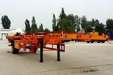 粱锋12.4米11.9吨1轴空载集装箱运输半挂车(YL9150TJZ)