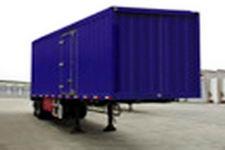 东风10米19吨2轴厢式运输半挂车(EQ9260XXY)