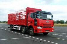 一汽解放国三前四后四平头柴油仓栅式运输汽车243-276马力10-15吨(CA5250CLXYP63K1L6T3A2E)