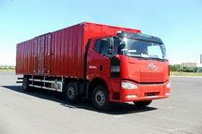 一汽解放国三前四后四平头柴油厢式运输汽车243-276马力10-15吨(CA5250XXYP63K1L6T3A1E)
