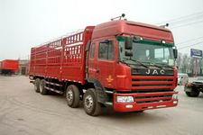 江淮格尔发国三前四后八仓栅式运输车265-305马力15-20吨(HFC5314CCYK1R1LT)