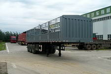 华任牌XHT9400CLX型仓栅式运输半挂车