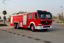 江特牌JDF5280GXFPM120Z型泡沫消防车
