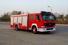江特牌JDF5190GXFPM70Z型泡沫消防车