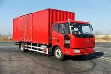 一汽解放国三单桥平头柴油厢式运输汽车163-190马力5-10吨(CA5160XXYP62K1L4A1E)