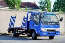 英田国三单桥平板运输车120马力8吨(YTP1120TPB)