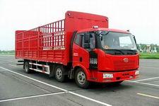 一汽解放国三前四后四仓栅式运输车223-233马力10-15吨(CA5250CCYP62K1L5T3E)