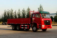 豪瀚国三后双桥,后八轮货车336马力15吨(ZZ1255N3846C1)