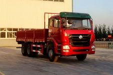 豪瀚后双桥,后八轮货车267马力15吨(ZZ1255M4046C1)