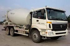 华建牌HDJ5257GJBAU型混凝土搅拌运输车