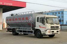 程力威牌CLW5161ZSL最低報價D3型散裝飼料運輸車13607286060