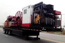 海智达牌JJY9651TLG型连续油管作业半挂车图片