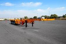 鲁岳12.2米35.5吨3轴集装箱运输半挂车(LHX9404TJZE)