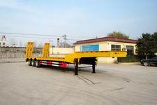 亚中车辆13米30.5吨3轴低平板半挂车(WPZ9400TDP)