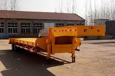 粱锋12米28吨2轴低平板半挂车(LYL9350TDP)