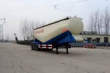雨辰10米30吨3轴低密度粉粒物料运输半挂车(SCD9402GFL)