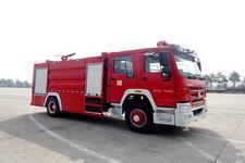 江特牌JDF5203GXFPM80型泡沫消防车