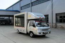 福田驭菱LED流动广告宣传舞台车中小型蓝牌汽柴油版程力厂家直销价格