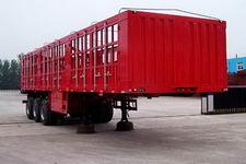 鸿天牛牌HTN9382CLXY型仓栅式运输半挂车图片