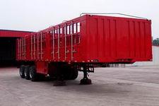 鸿天牛牌HTN9392CLXY型仓栅式运输半挂车图片