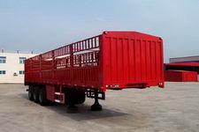 鸿天牛牌HTN9320CLXY型仓栅式运输半挂车图片