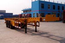 鸿天牛牌HTN9371TJZ型集装箱运输半挂车图片