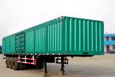 鸿天牛牌HTN9380XXY型厢式运输半挂车图片