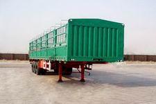 鸿天牛牌HTN9380CLXY型仓栅式运输半挂车图片