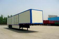 鸿天牛牌HTN9400XXY型厢式运输半挂车图片